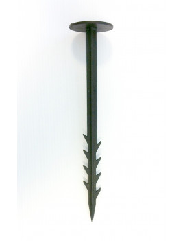PICCHETTO/CHIODO FERMA TELO O PACCIAMATURA lungh. 20 cm. - PVC- conf. da 20pz.