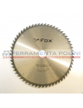 FOX F35-061 LAMA PER TRONCATRICI DIAMETRO 250mm