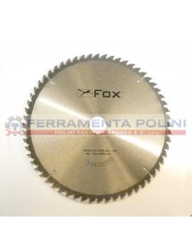 FOX F35-061 LAMA PER TRONCATRICI DIAMETRO 250mm