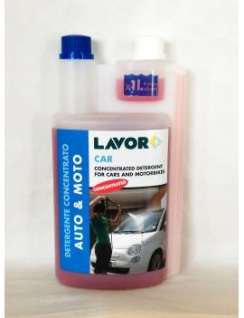 lavorwash CAR detergente concentrato 1 L per la pulizia di auto e moto