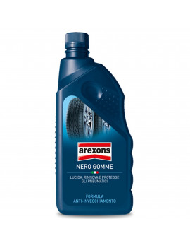 AREXONS 8377 - NERO GOMME RINNOVA E PROTEGGE PNEUMATICI 1 Lt