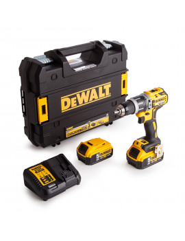 DEWALT DCD796P2 BRUSHLESS 18V BATTERIE AL LITIO 5Ah + VALIGIA