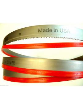 LAMA SEGA A NASTRO BI-METAL M42 - 2450x27X0,9 T5/8 - M.K. Morse - made U.S.A.
